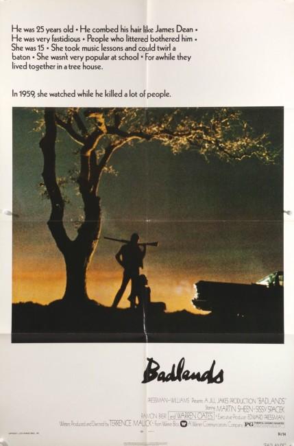 Badlands (1973) poster