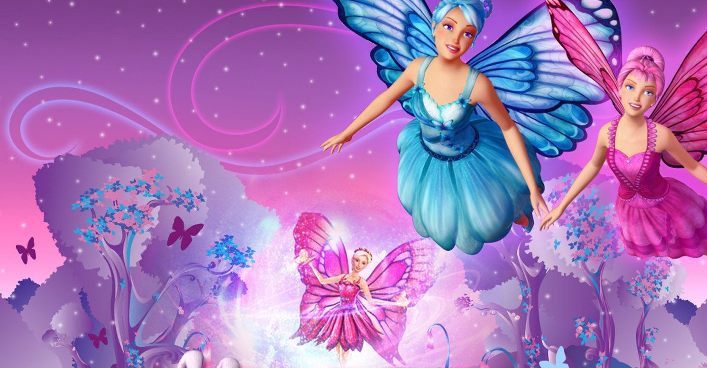 Barbie and fairies in Barbie Mariposa (2008)
