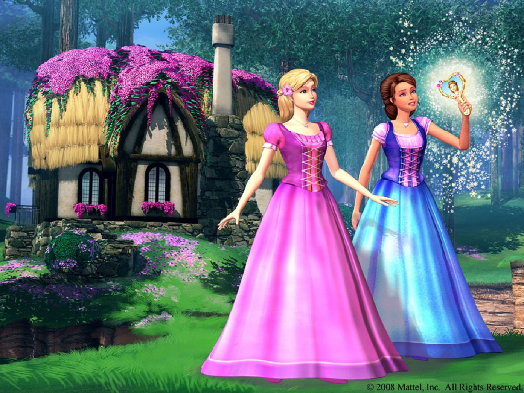 Liana and Alexa in Barbie & the Diamond Castle (2008)