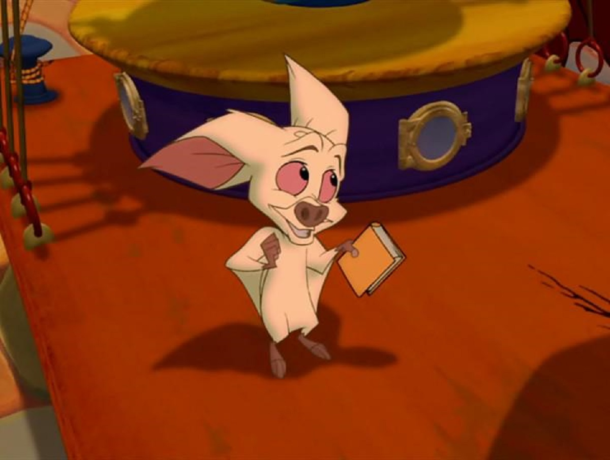 The bat Bartok (voiced by Hank Azaria) in Bartok the Magnificent (1999)