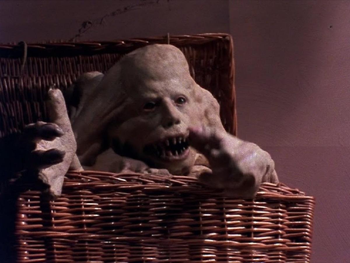Belial in his basket in Basket Case (1982)