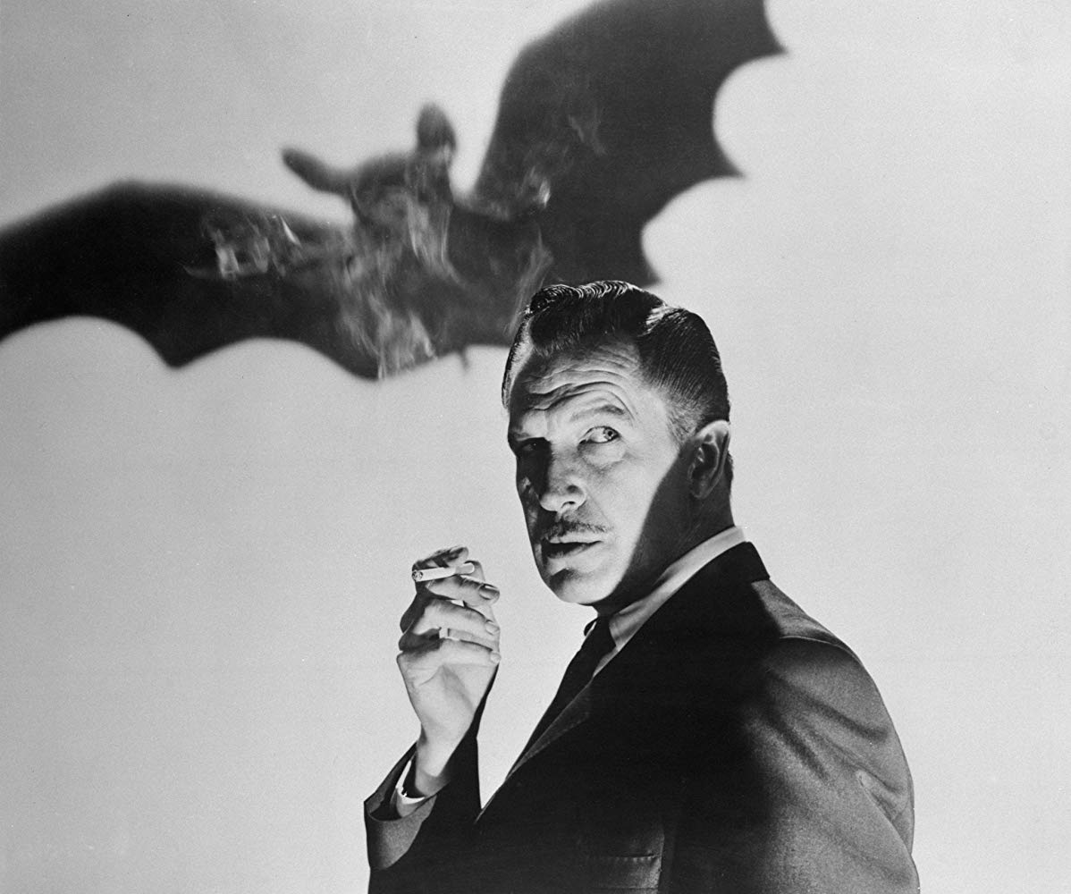 Vincent Price as the villainous Dr Malcolm Wells in The Bat (1959)