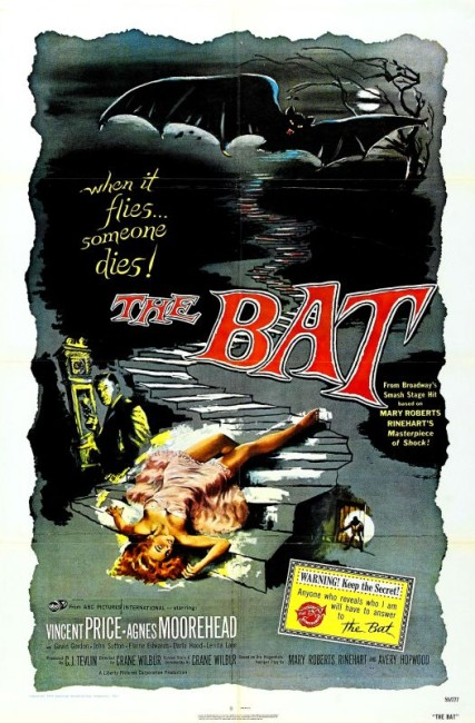 The Bat (1959) poster