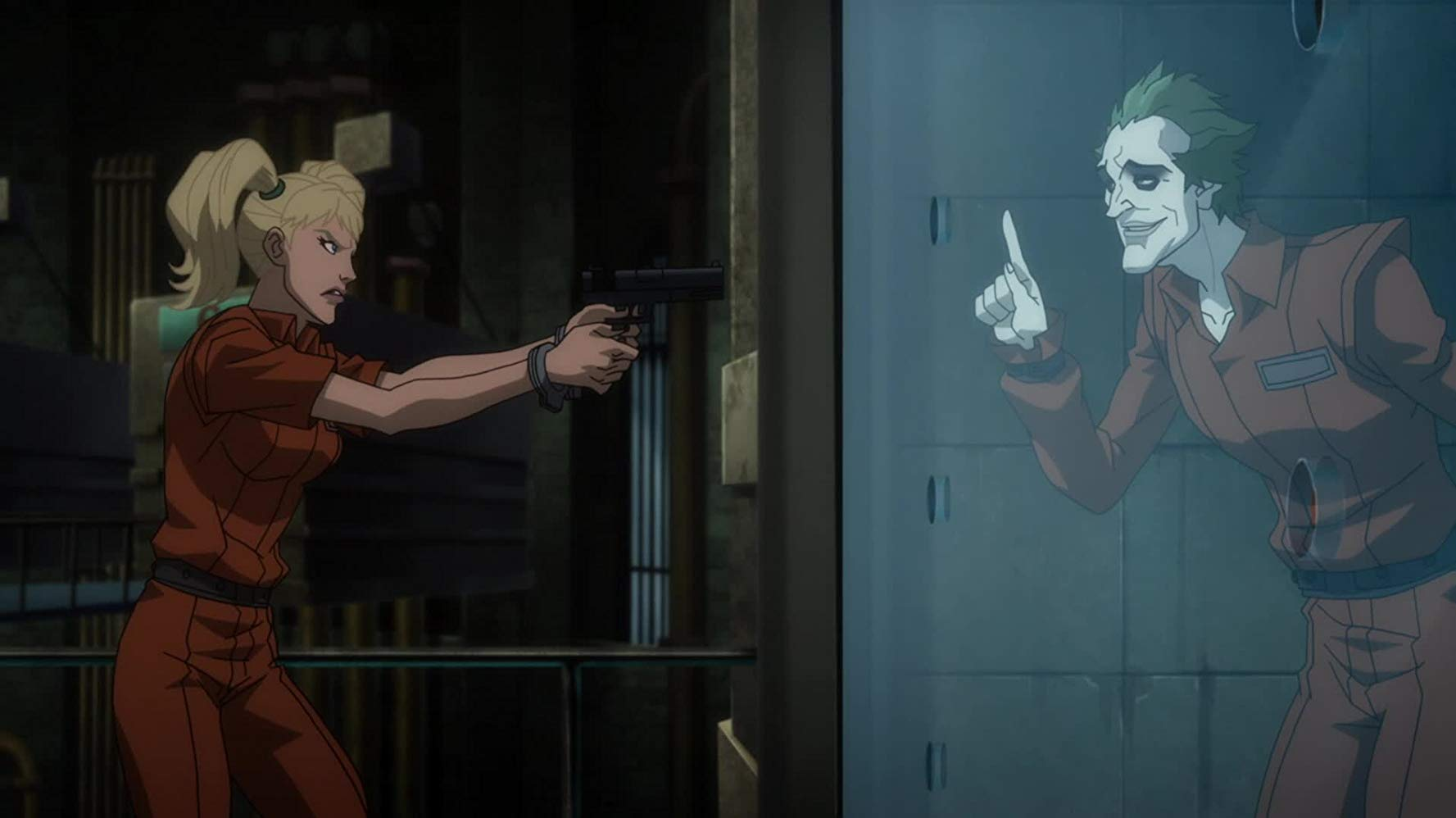 Harley Quinn reunites with The Joker in Batman Assault on Arkham (2014)