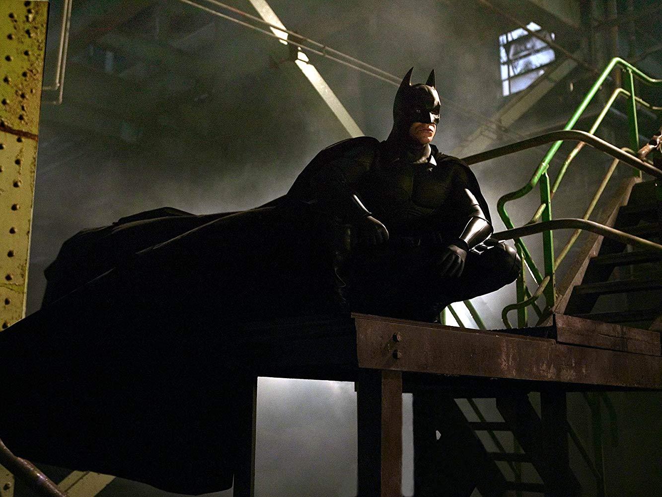 Christian Bale as Batman in Batman Begins (2005)