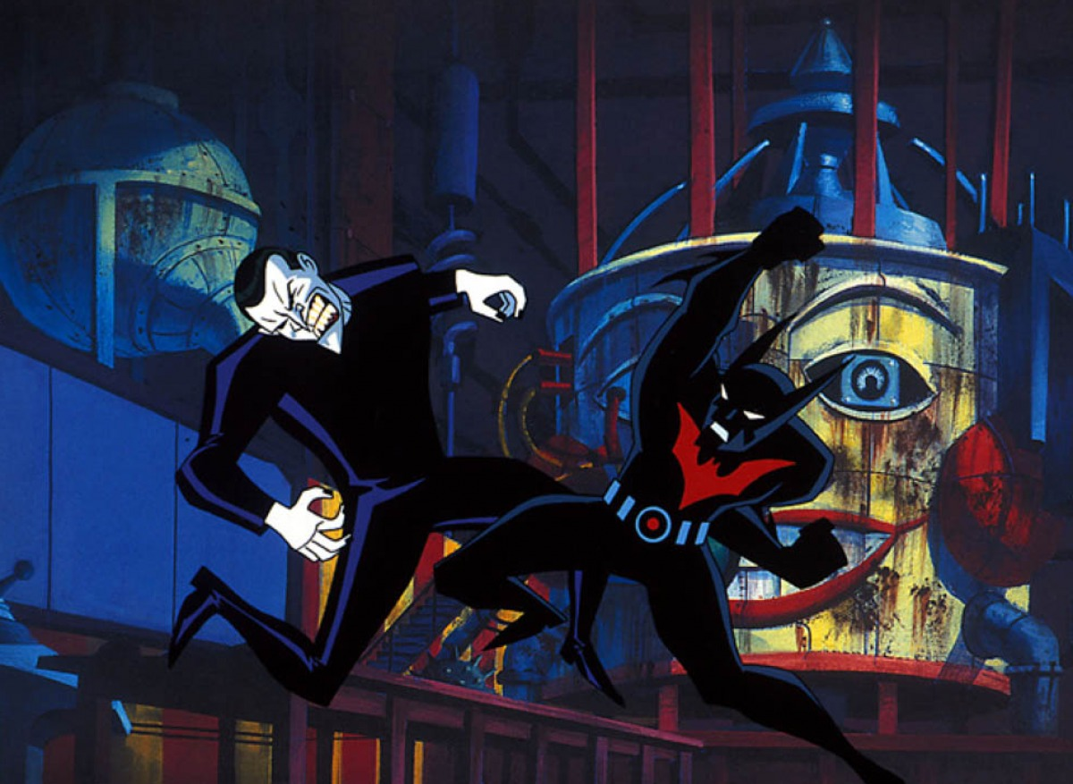 Batman fights The Joker in Batman Beyond Return of the Joker (2000)