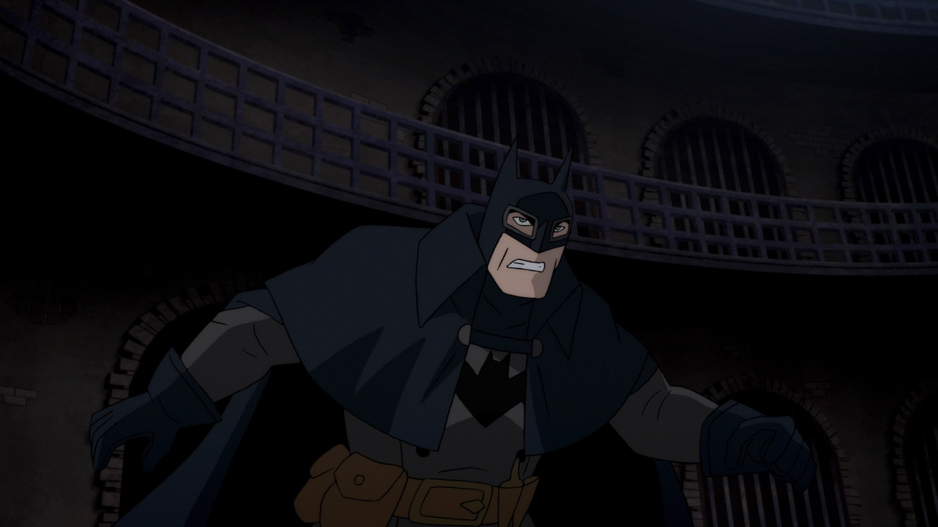 A 19th Century Batman in Batman: Gotham By Gaslight (2018)