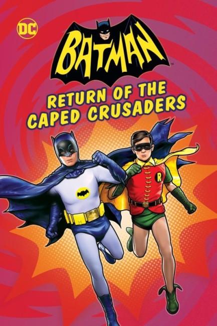 Batman Return of the Caped Crusaders (2016) poster