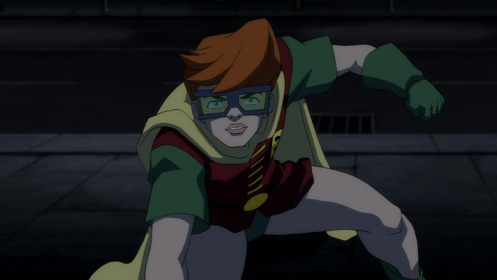 The new Robin, Carrie Kelly in Batman The Dark Knight Returns Part I (2012)