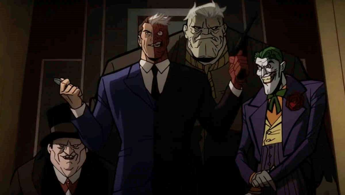 The Penguin, Two-Face, Solomon Grundy and The Joker in Batman: The Long Halloween Part Two (2021) 1