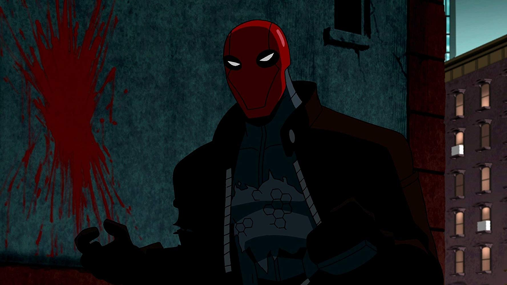 Jason Todd's resurrection as the villain Red Hood in Batman: Under the Red Hood (2010)