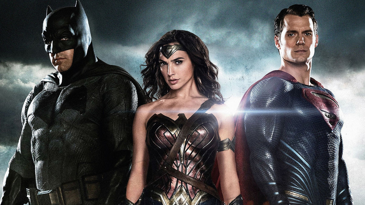 Batman (Ben Affleck), Wonder Woman (Gal Gadot), Superman (Henry Cavill) in Batman V Superman Dawn of Justice (2016) 1
