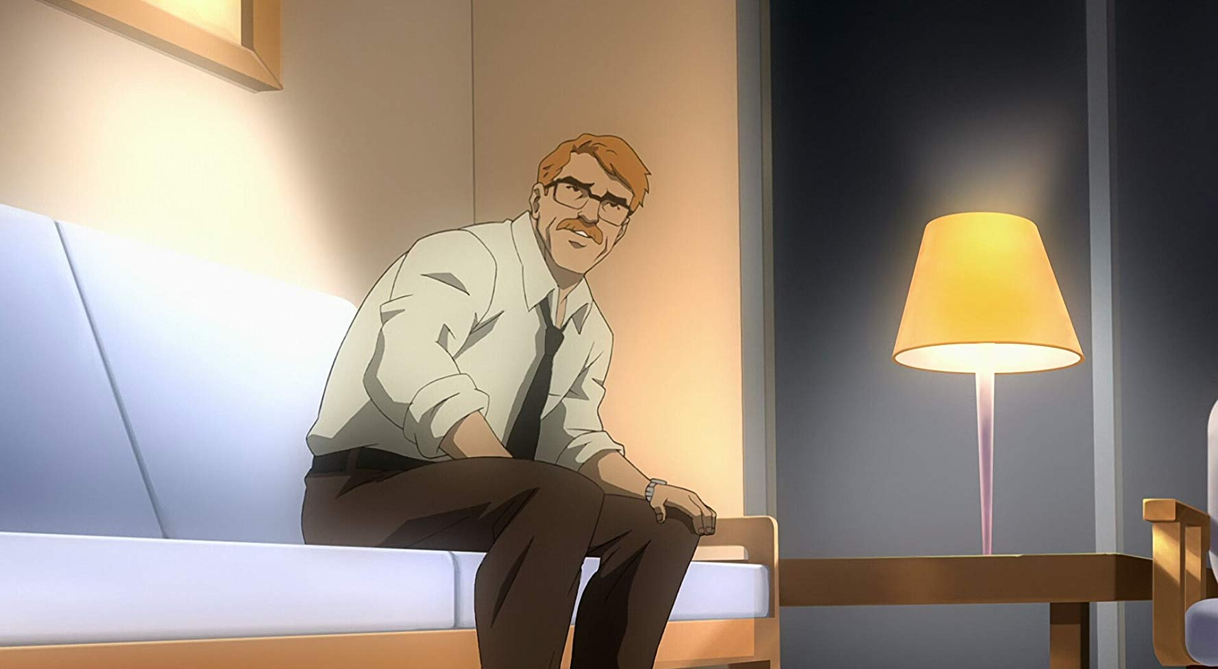 Commissioner Gordon in Batman Year One (2011)