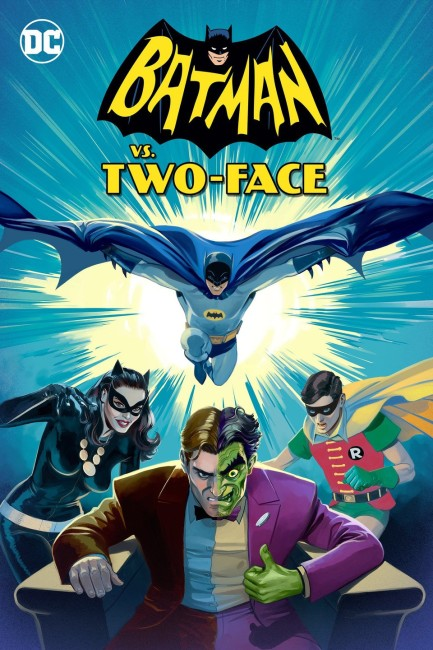 Batman vs. Two-Face (2017) poster
