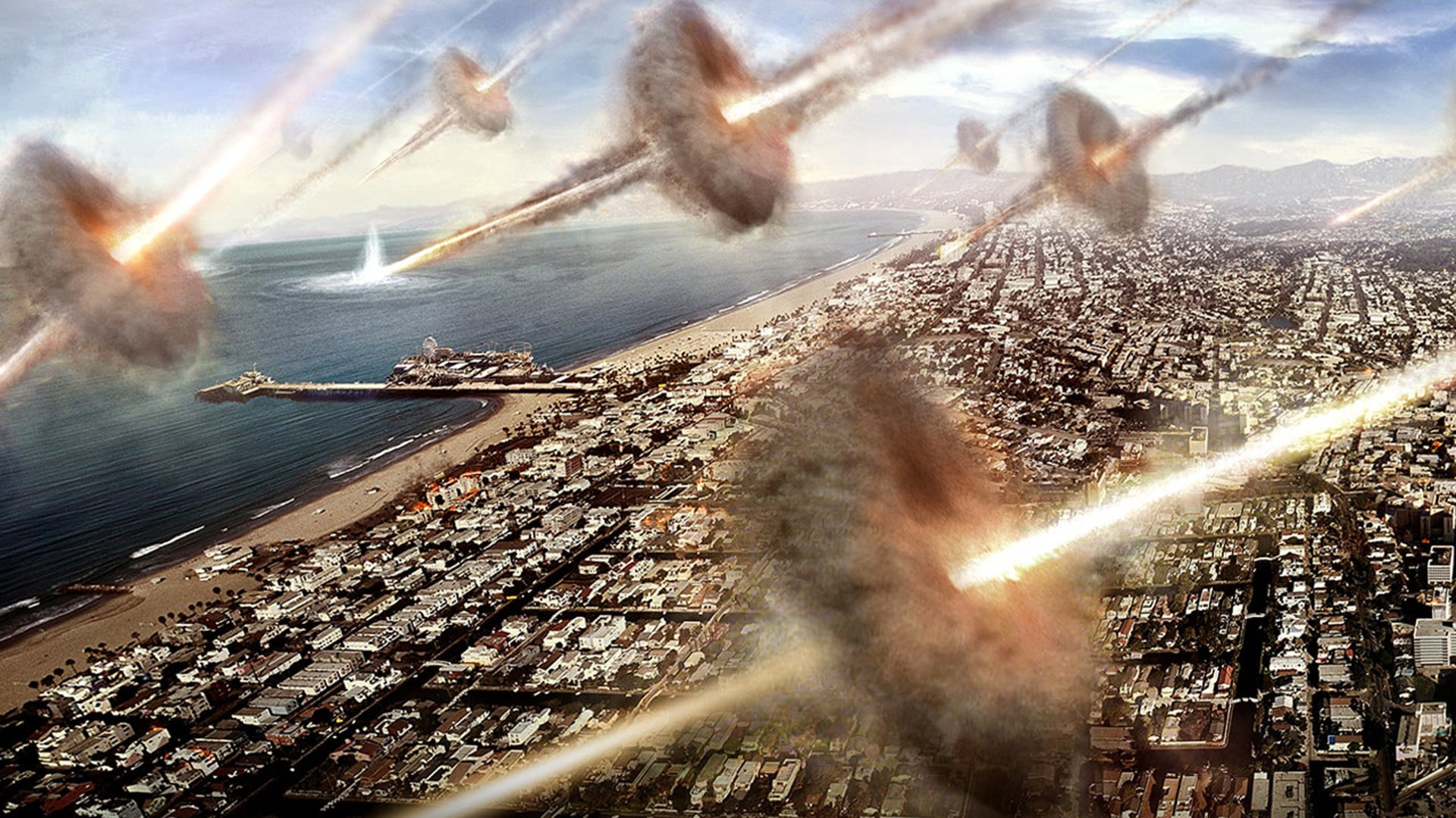 Earth is invaded in Battle Los Angeles (2011)