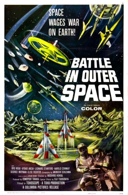 Battle in Outer Space (1961) poster