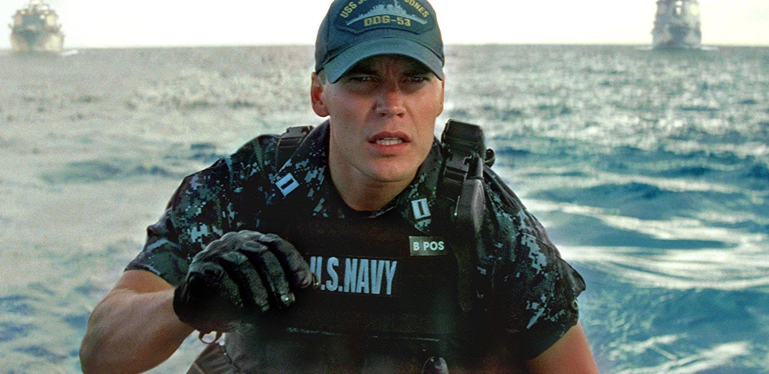 Taylor Kitsch in the Navy in Battleship (2012)