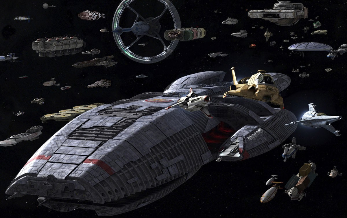 The Colonial Fleet in Battlestar Galactica (2003)