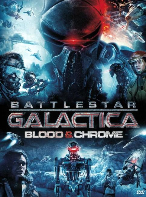 Battlestar Galactica: Blood & Chrome (2012) poster