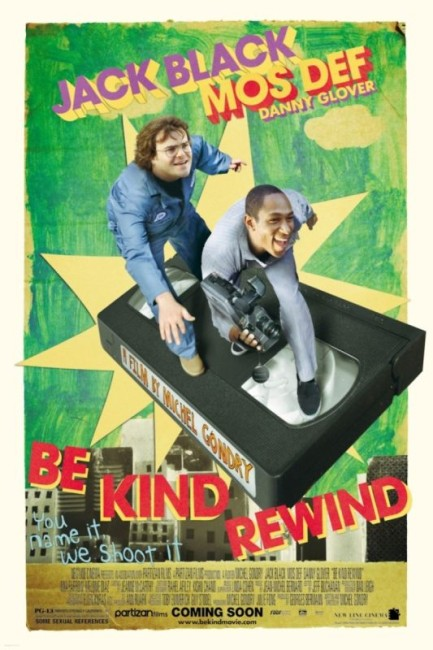 Be Kind Rewind (2008) poster