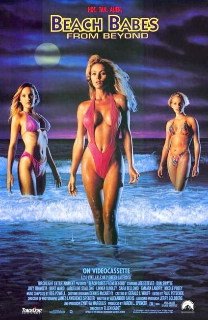 Beach Babes from Beyond (1993) poster