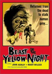 Beast of the Yellow Night (1971) poster