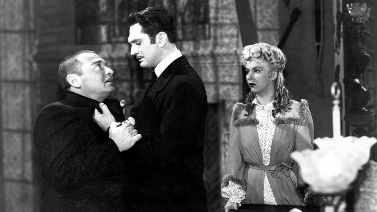 Peter Lorre, Robert Alda, Andrea King in The Beast with Five Fingers (1946)