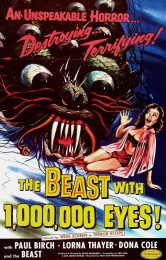 The Beast with a Million Eyes (1955) poster