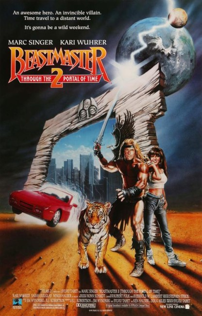 Beastmaster 2: Through the Portal of Time (1991) poster