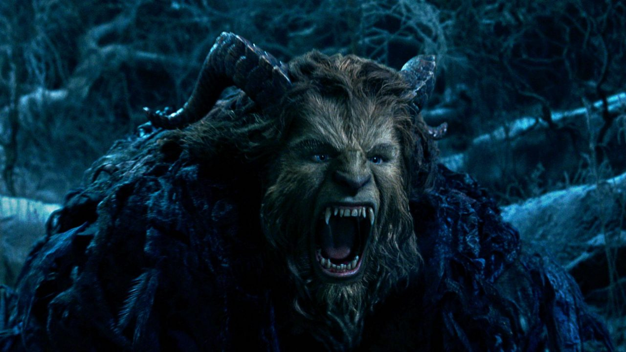 Dan Stevens as The Beast in Beauty and the Beast (2017)