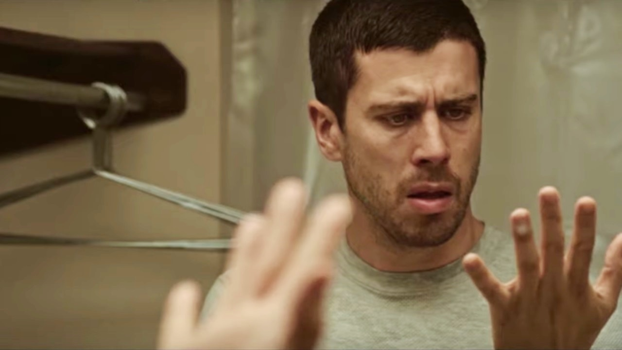 Toby Kebbell becomes possessed by an entity in Becoming (2020)
