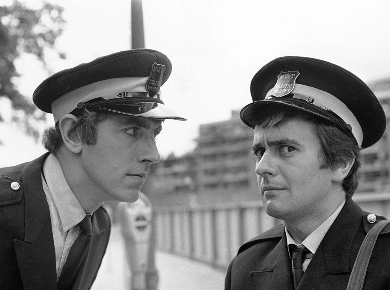 George Spiggott alias The Devil (Peter Cook) and the hapless Stanley Moon (Dudley Moore) in Bedazzled (1967)