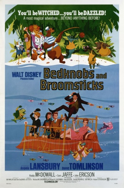 Bedknobs and Broomsticks (1971) poster