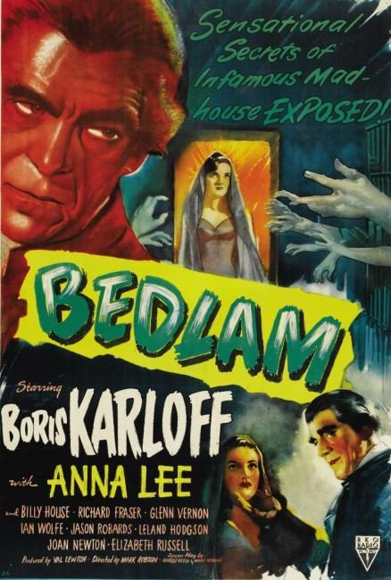 Bedlam (1946) poster