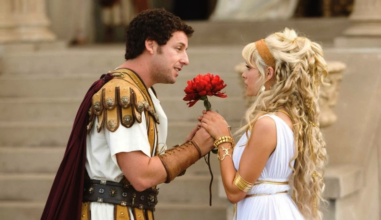 Adam Sandler woos Teresa Palmer in the Rome sequence in Bedtime Stories (2008)