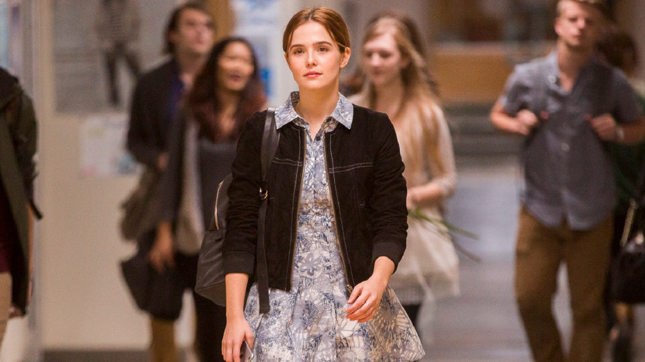 Zoey Deutch forced to repeat the same school day over and over in Before I Fall (2017)