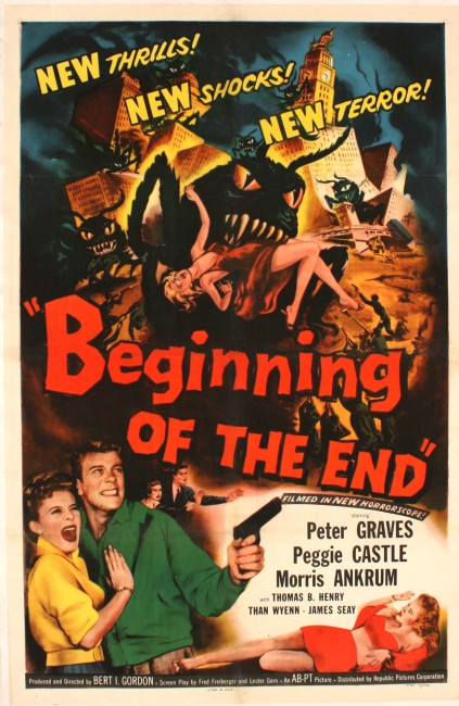 Beginning of the End (1957) poster
