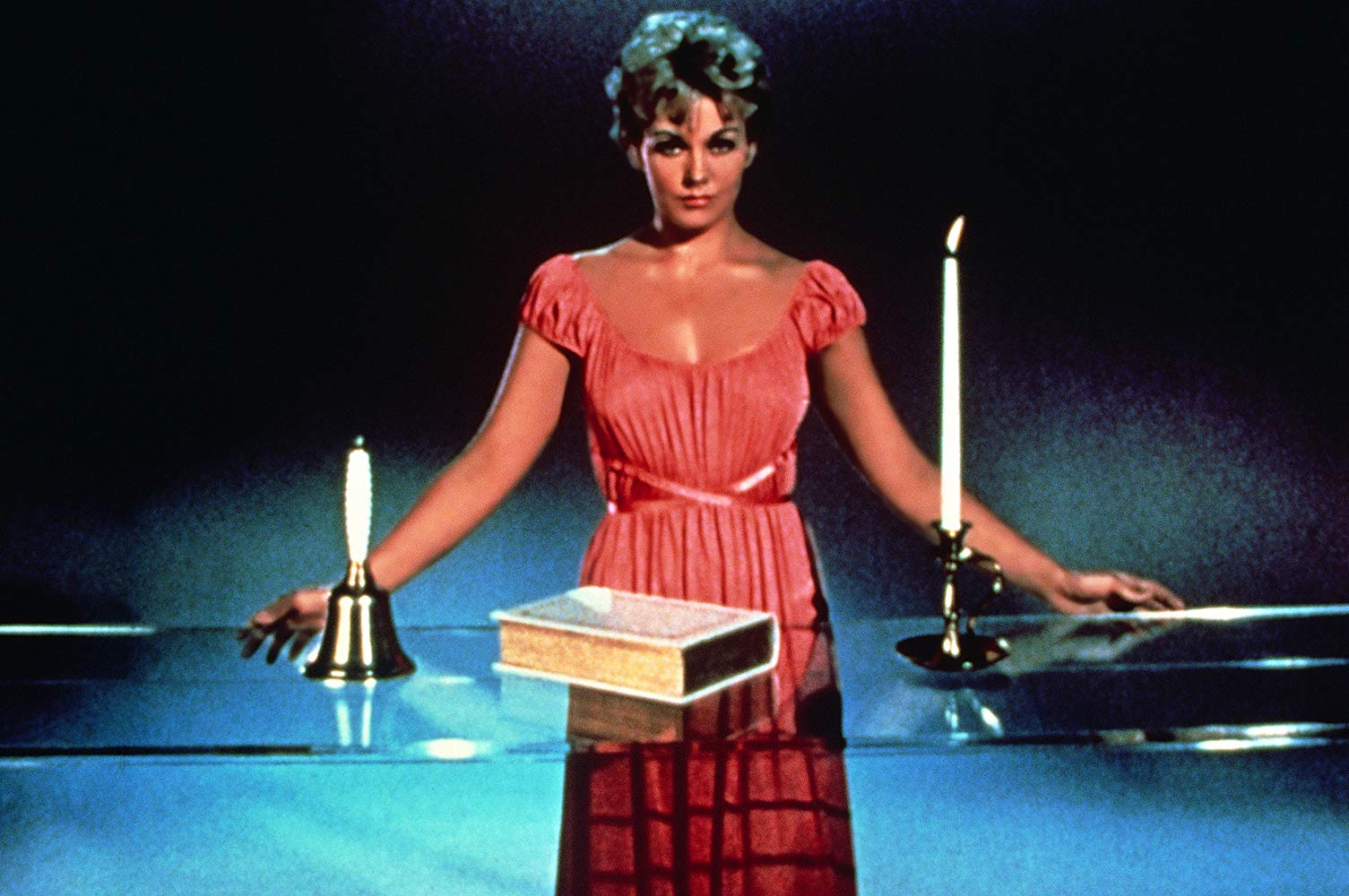 Kim Novak as witch Gillian Holroyd in Bell Book and Candle (1958)