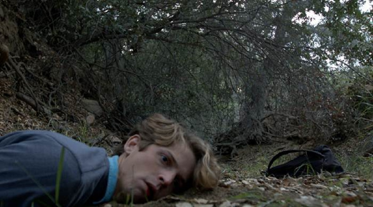 James Simenc attacked in the woods in The Bell Witch Haunting (2013)