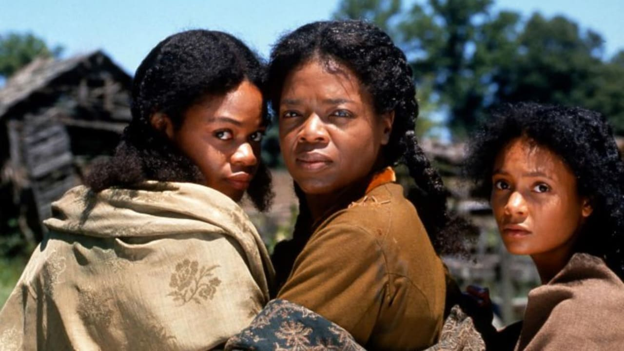 (l to r) Denver (Kimberly Elise), Sethe (Oprah Winfry) and Beloved (Thandie Newton) in Beloved (1998)