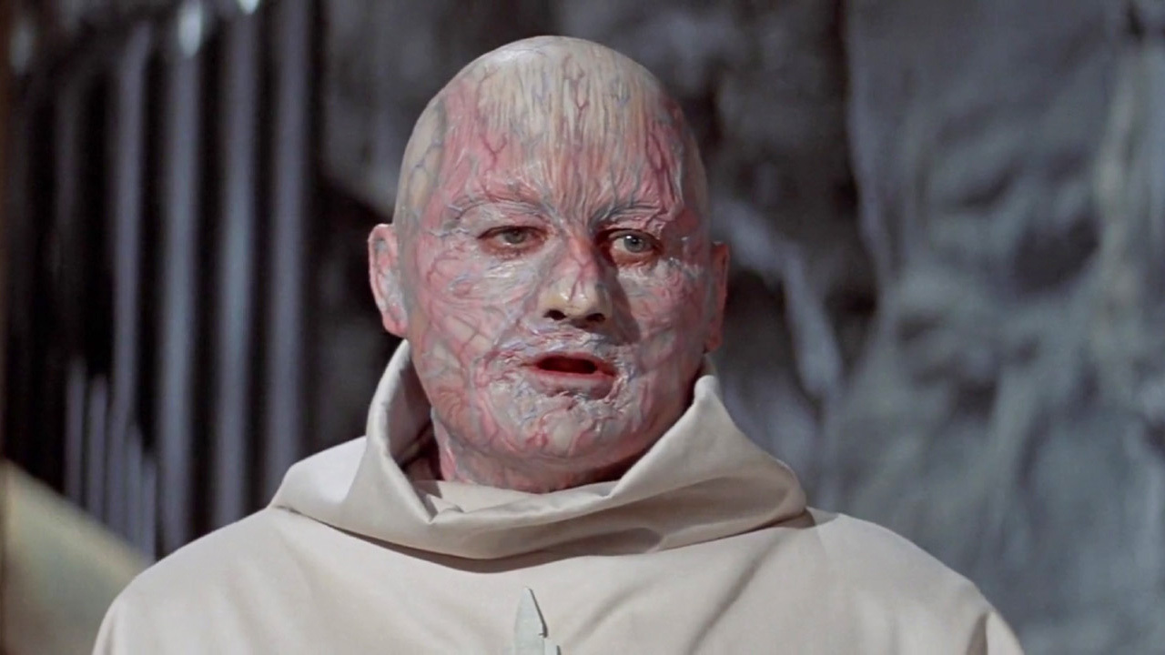 Mutant Victor Buono's true face revealed in Beneath the Planet of the Apes (1970)