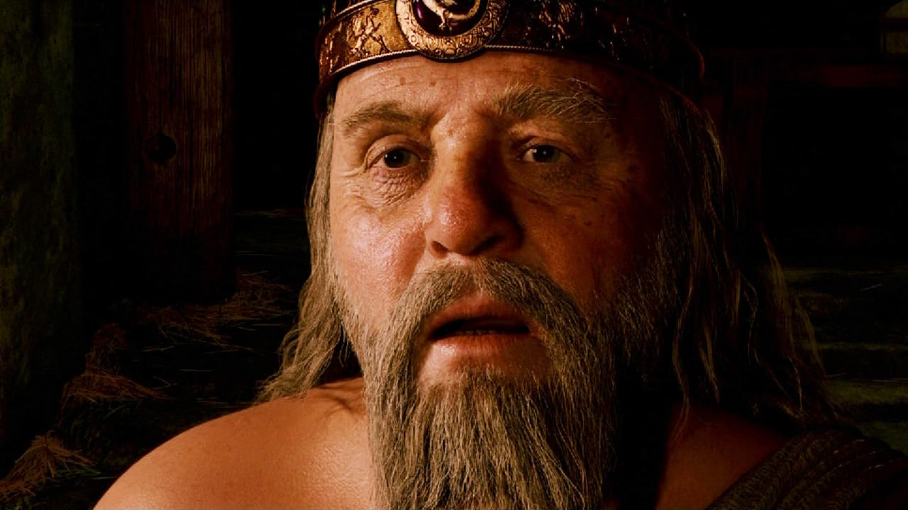 Anthony Hopkins as King Hrothgar in Beowulf (2007)