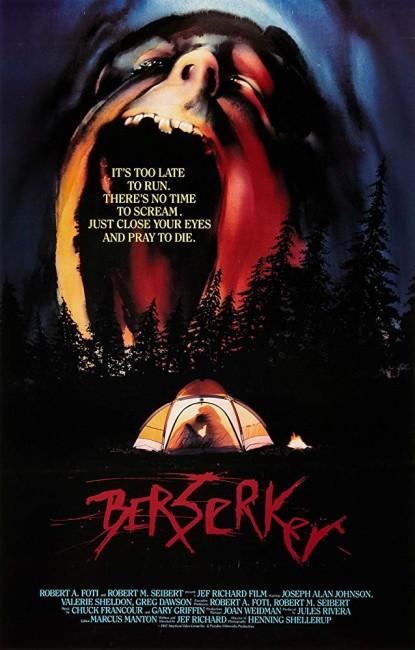 Berserker: The Nordic Curse (1987) poster