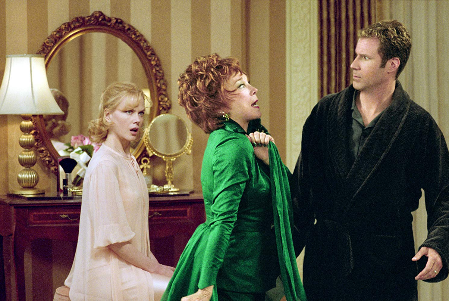 icole Kidman, Shirley MacLaine and Will Ferrell in Bewitched (2005)