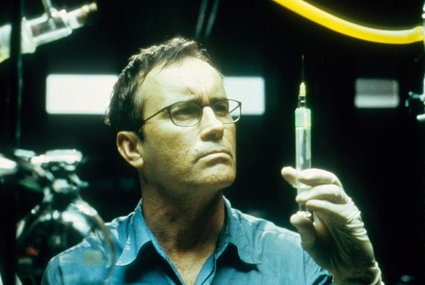 Jeffrey Combs as Dr Hebert West in Beyond Re-Animator (2003)