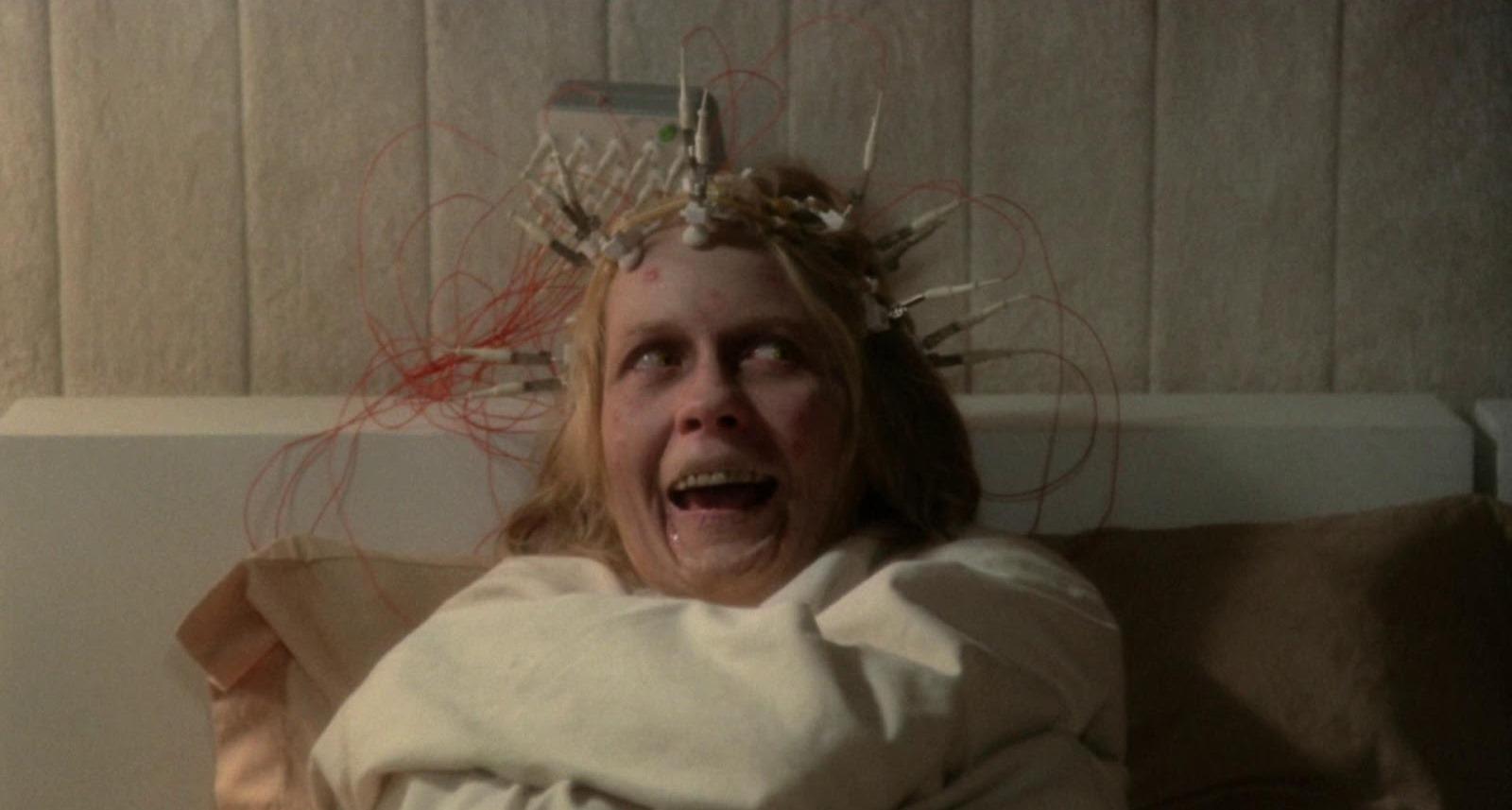 A possessed Juliet Mills in Beyond the Door (1974)