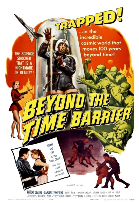Beyond the Time Barrier (1960) poster