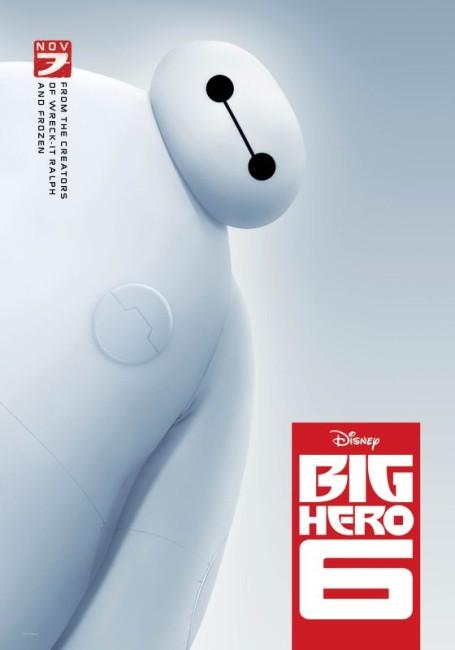 Big Hero 6 (2014) poster