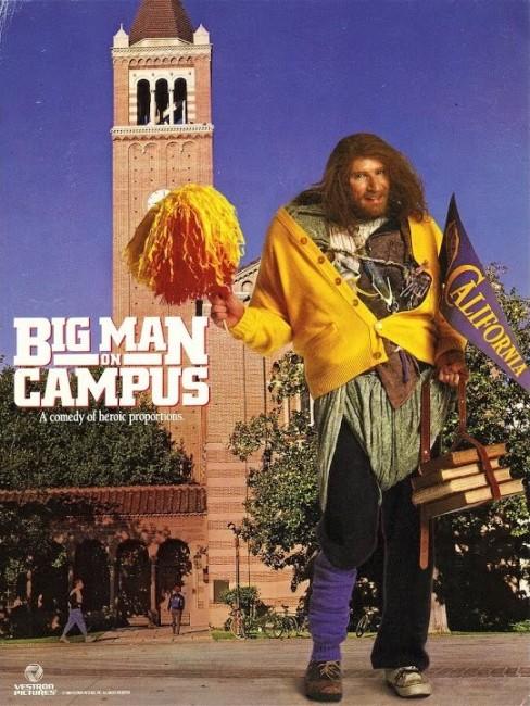Big Man on Campus (1986) poster