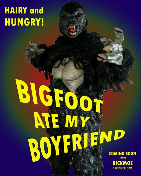 Bigfoot Ate My Boyfriend (2016) poster